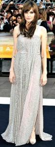 Salt Filmi Galası İçin Angelina Jolie Londra'daydı.