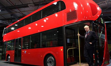 Boris Johnson Yeni Londra Otobüsünü Tanıttı