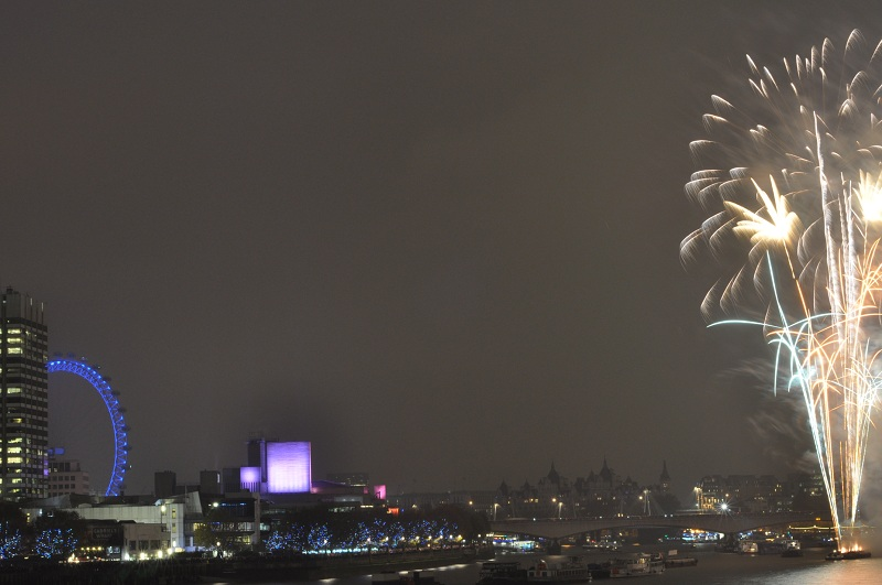 Londra'da Yılbaşı Kutlamaları 31 Aralık 2011