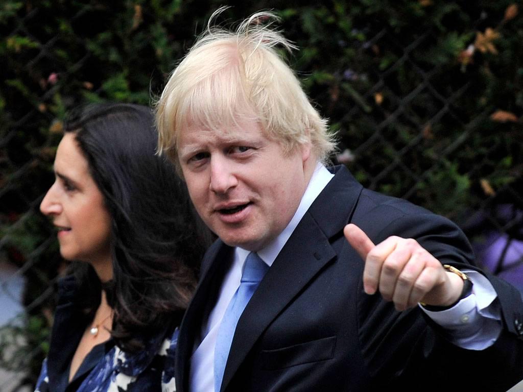 Boris Johnson ve eşi Marina