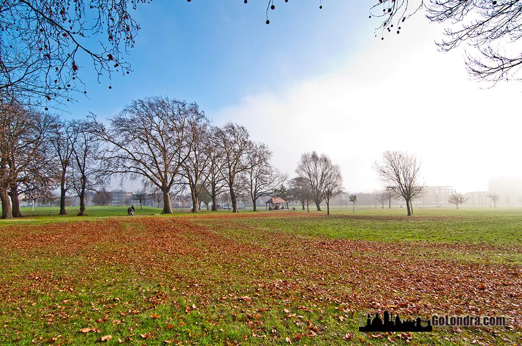 Bu bolge civarındaki Finsbury Park, çok daha ideal bir yaşama sahiptir.
