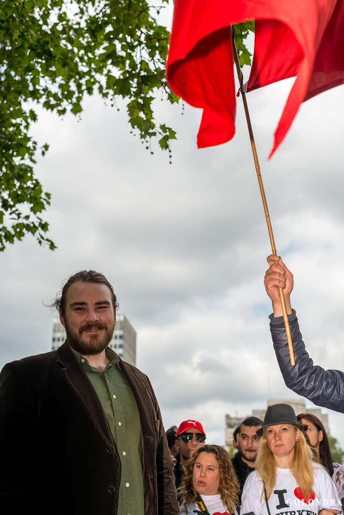Protesting Turkish Government - Turk Hukumetini Protesto - Londra - London (27)