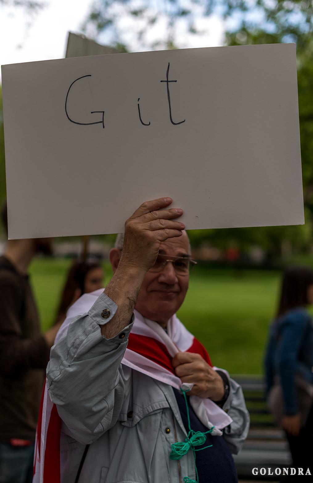 Protesting Turkish Government - Turk Hukumetini Protesto - Londra - London (30)